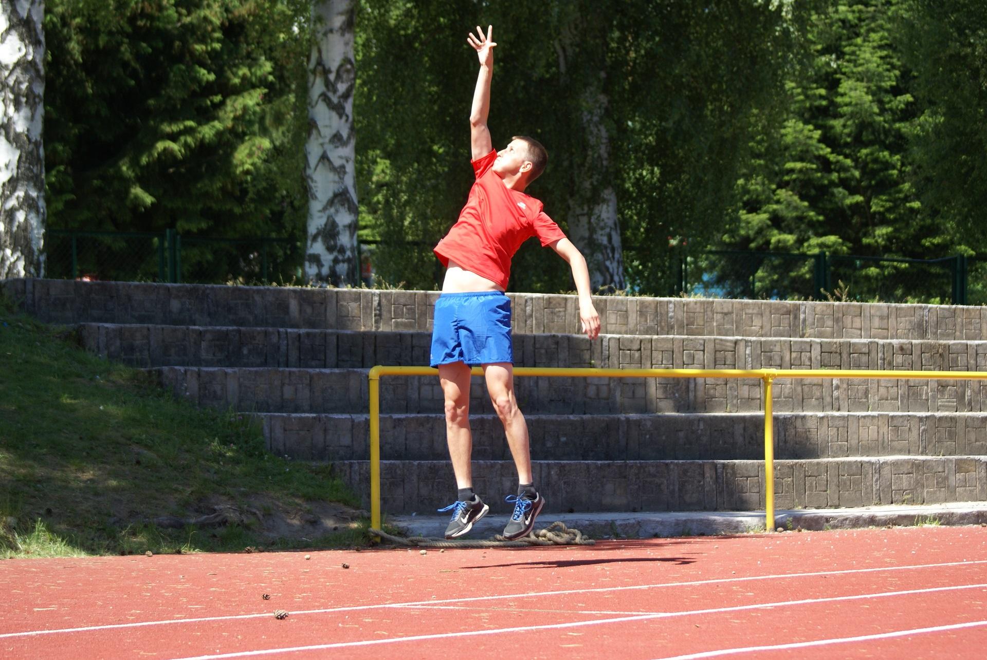 Trener Michał Woś